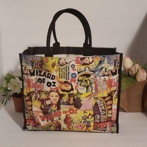 Wizard of oz vintage vinil tote bag
